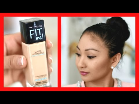 Fit Me Matte + Poreless Foundation by Maybelline #7