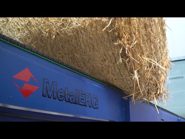 Transforming low-cost straw into high-value heating