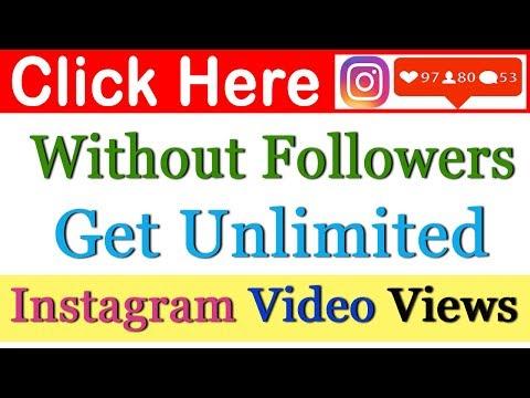 get free instagram video views