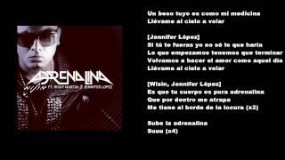 "Wisin Ft Jennifer Lopez y Ricky Martin - ""Adrenalina"" con Letra   New Reggaeton 2014   OFFICIAL"