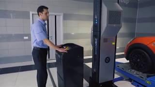 """3D стенд развал схождения бесконтактный Techno Vector 8 SMARTLIGHT от компании ТОВ """"ДІАГНОСТІК-ЛАЙН"""" - видео"""