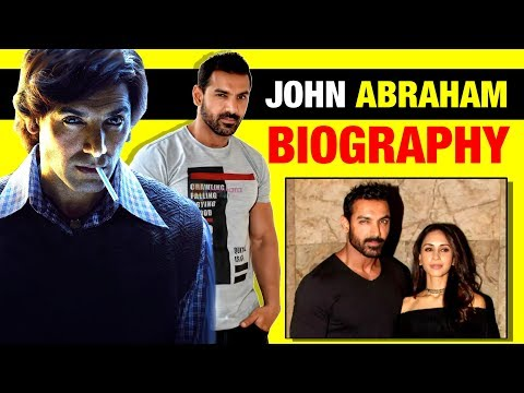 💪 John Abraham (जॉन अब्राहम) Biography in Hindi | Life Story | Family | Wife | Romeo Walter Akbar