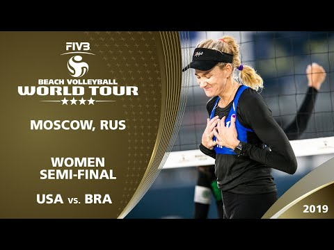 LIVE 🔴 - Women's Semi-Final 2 | 4* Moscow (RUS) - 2019 FIVB Beach Volleyball World Tour