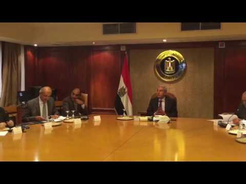 لقاء المهندس/طارق قابيل وزير التجارة والصناعة بالأمانة الفنية للجنة تفضيل المنتج المحلي
