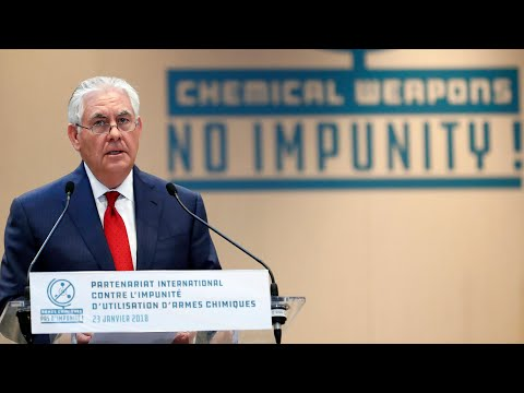 Rex Tillerson: Russia responsible for Syria chemical attacks