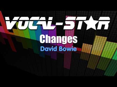 David Bowie - Changes (Karaoke Version) with Lyrics HD Vocal-Star Karaoke
