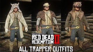Red Dead Redemption 2 - All TRAPPER Outfits