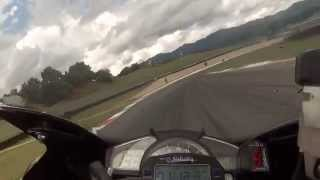 MUGELLO onboard. R1 2008 stock...Best Laps. 2'05
