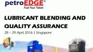 Lubricant Blending & Quality Assurance