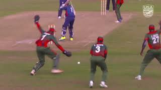 USA V Kenya Cricket Full Match Highlights