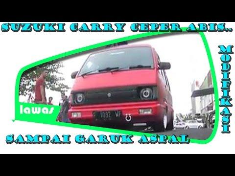 Video MODIFIKASI SUZUKI CARRY CEPER ABIS SAMPE GARUK ASPAL