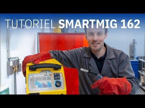 GYS - Prendre en main le SMARTMIG 162 (EN/DE subtitles)