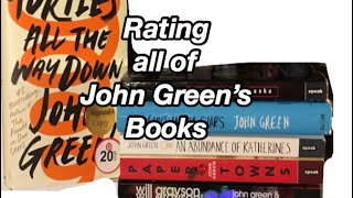 Rating All Of John Greens Books
