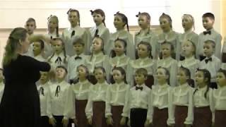"""Колыбельная - сводный хор ВХС """"Голос"""" 2019-01-13"""