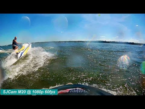 SJCAM M20 HD Action Camera Demonstration Review