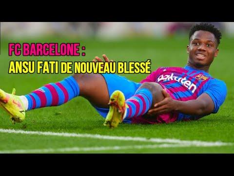 FC Barcelone : Ansu Fati de nouveau blessé