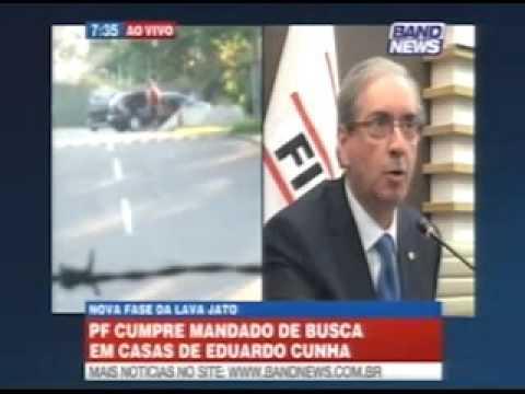 PF deflagrou a Operação Catilinária nas casas de Eduardo Cunha - Gente de Opinião