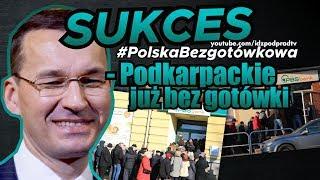 SUKCES #PolskaBezgotówkowa – Podkarpackie już bez gotówki. IDŹ POD PRĄD NA ŻYWO 2020.01.22