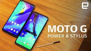 Motorola Moto G8 Power & Motorola Moto G Stylus hands-on