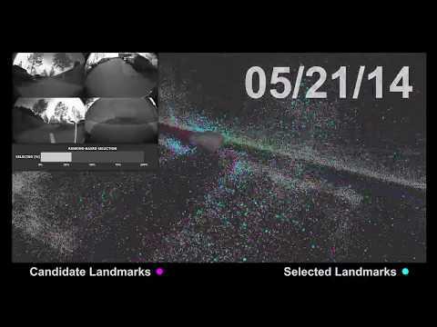 """Appearance-based landmark selection for efficient long-term visual localization"" by Mathias Buerki"