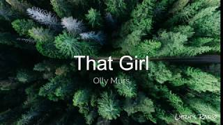 Olly Murs – That Girl (Lyrics/Lyric Video)