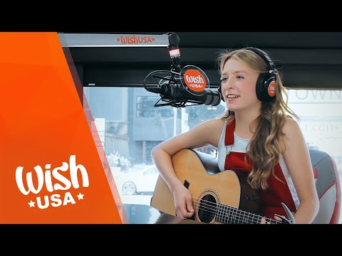 "Noelle Lidyoff performs ""Honest Heart"" LIVE on the Wish USA Bus"