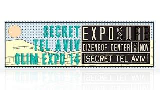 preview picture of video 'Secret Tel Aviv Olim Expo 2014'