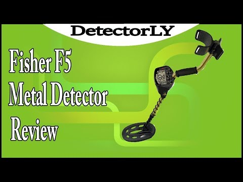 Fisher F5 Metal Detector Review