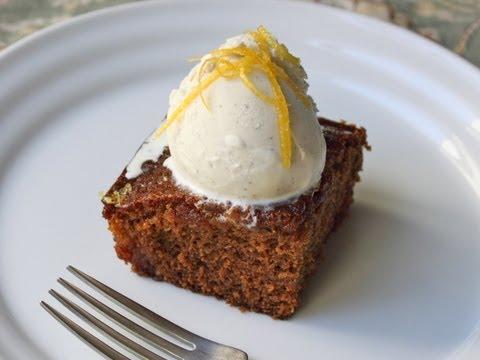 Gingerbread Cake with Lemon Glaze – Christmas Gingerbread Dessert