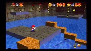 Super Mario 64 (#9 Dire, Dire Docks Stars 1-6) Part 1