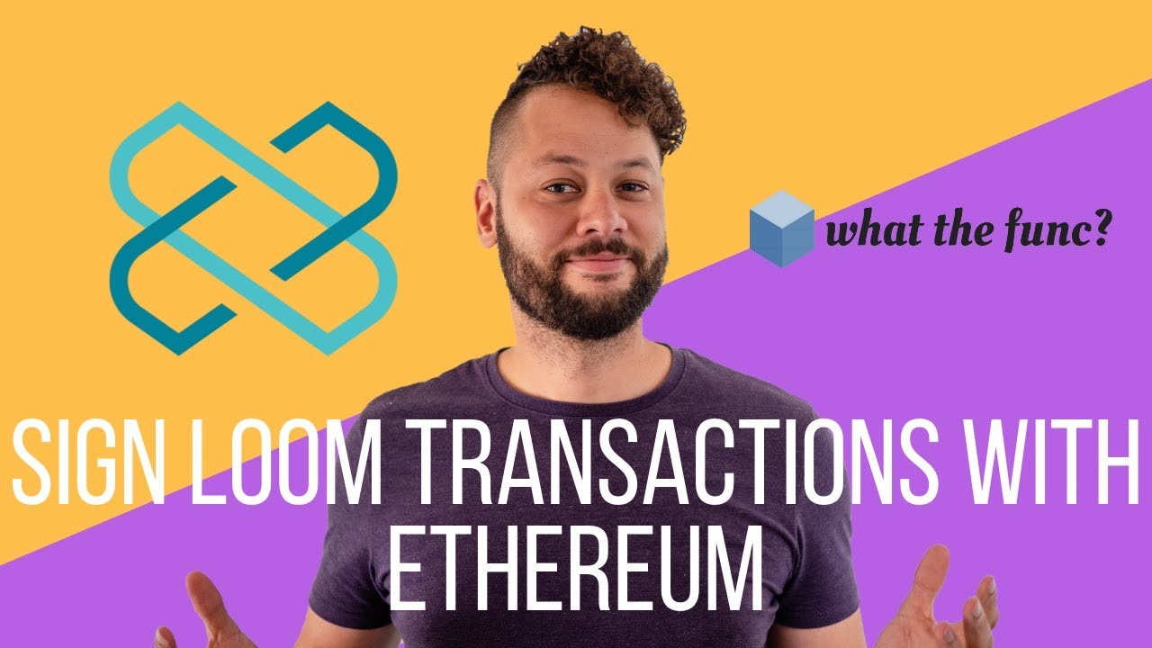 Sign Loom Plasmachain Transactions Using an Ethereum Wallet