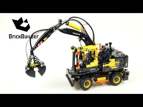 Vidéo LEGO Technic 42053 : Volvo EW160E