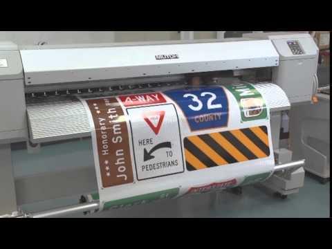 Impresora Señalización Vial - Imprimir Señales
