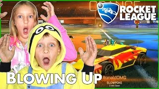 Blowing Up Scores / Rocket League with Karina