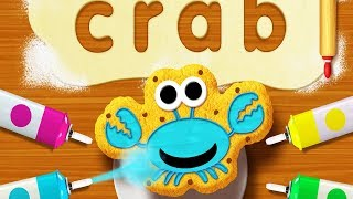 Kids Learn Alphabet  - Fun Cooking Games Words Creating Letter - Sesame Street Alphabet Kitchen