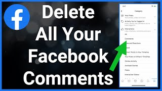How To See & Delete All Your Comments On Facebook Posts