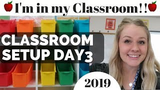 Classroom Setup High School Teacher Vlog Classroom Tour Day in the Life of a Teacher Back to School