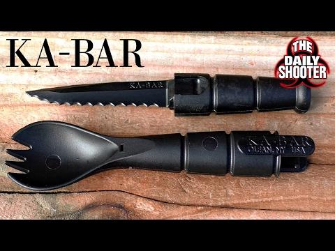 "Ka-Bar Tactical Spork Yup ""Tactical Spork"""