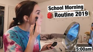 My REAL School Morning Routine 2019