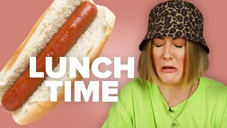 Adults Eat A High School Lunch