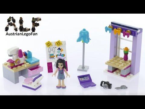 Vidéo LEGO Friends 41115 : L'atelier de couture d'Emma