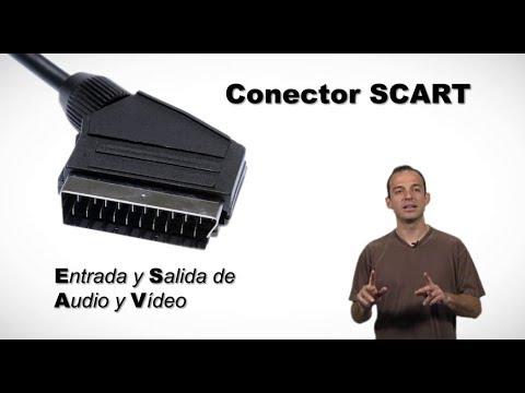 GLOSARIO DE CONECTORES - VÍDEO Y AUDIO - 3. EUROCONECTOR o SCART