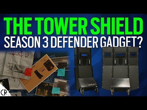 Tower Shield - S3 Def Gadget? - Tom Clancy's Rainbow Six Siege