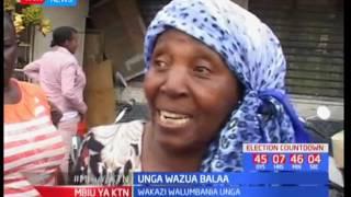 Wakaazi wa Kitengela wavurugana kwa nia ya kununua unga