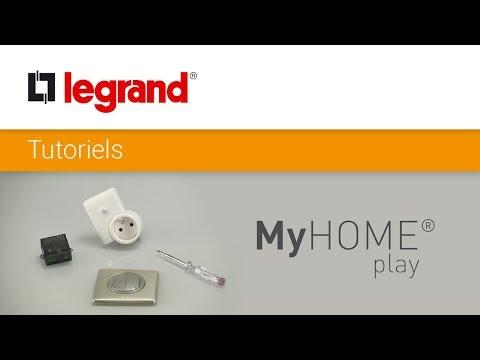 Ajoutez une commande d'éclairage dans un réseau radio MyHome Play