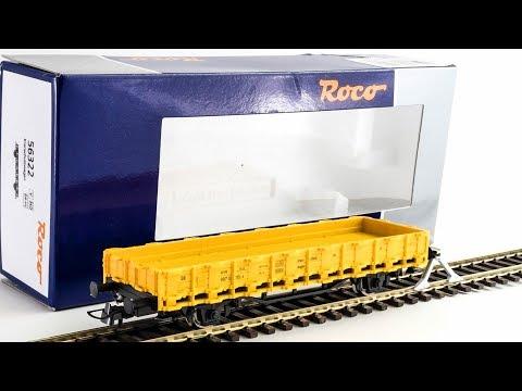ROCO 56322 Carro di Servizio DB | Unboxing, impressoni e adattamento AC!