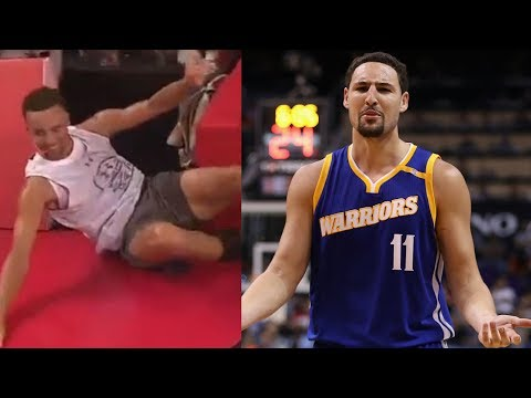 Steph Curry Makes Fun of Klay Thompson's Dunk Fail in China