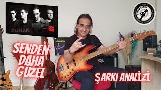 Bas Gitara Başlangıç Şarkıları | Duman (Senden Daha Güzel)
