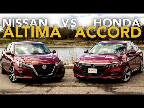 2019 Nissan Altima vs Honda Accord Comparison