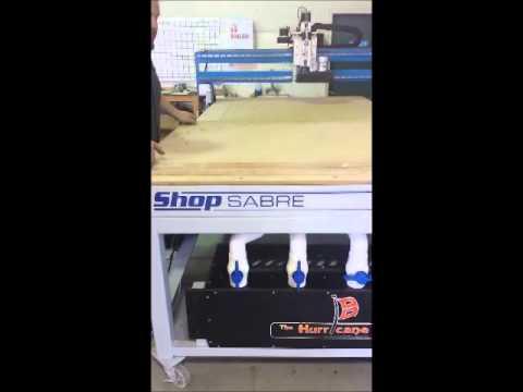 ShopSabre CNC Single Phase Vacuum Optionvideo thumb